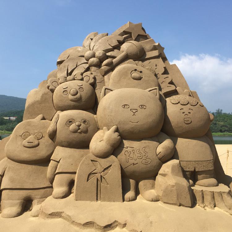 全球授權業持續火熱,台灣肥貓從日本熱回福隆沙灘