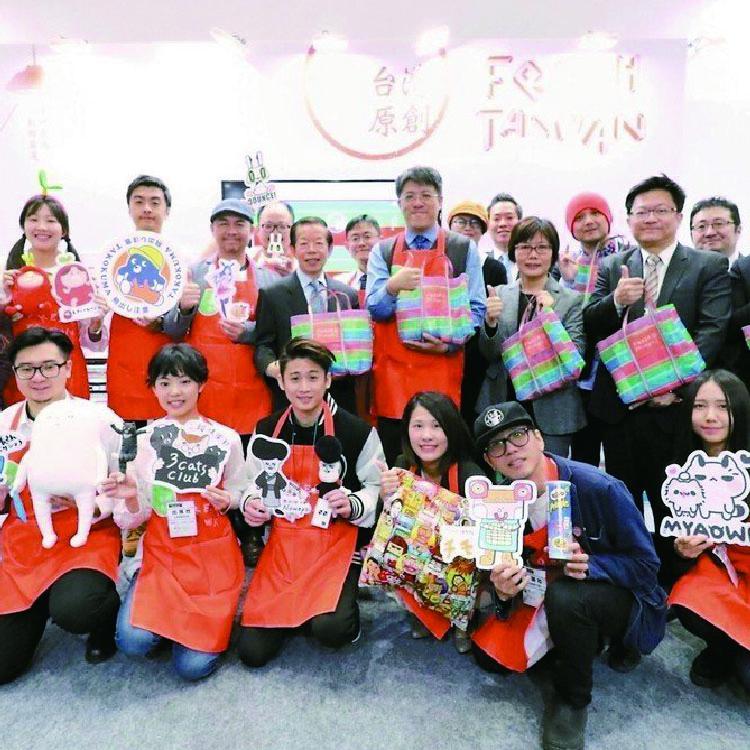 日本授權展驚見臺灣傳統市場!台味十足引發熱議