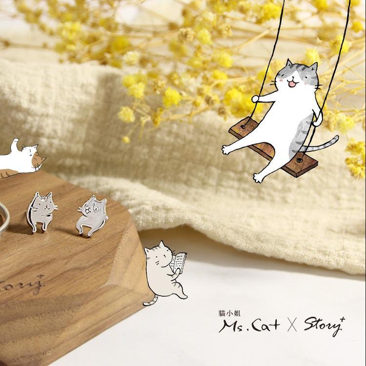 聖誕禮物就買這個!貓小姐Ms.Cat聯名銀飾優雅上市