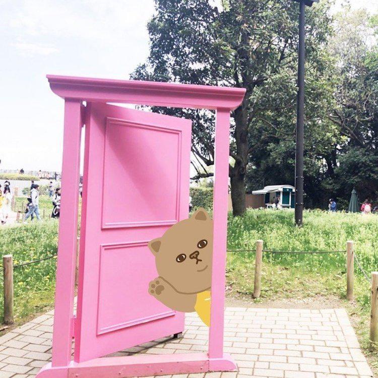 台灣吻吻貓初訪東京 拜訪日本未來貓-哆啦A夢