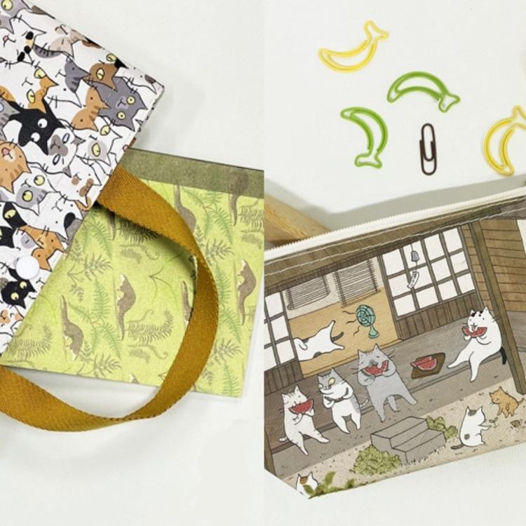 貓小姐Ms.Cat與台灣品牌Sunny Bag首度聯名 一起把貓「袋」著走