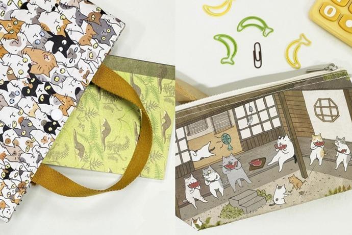 首度聯名台灣品牌Sunny Bag 一起把貓「袋」著走